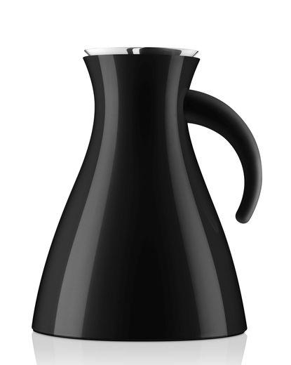 Eva Solo Thermoskan Vacuum Breed Zwart 1 liter