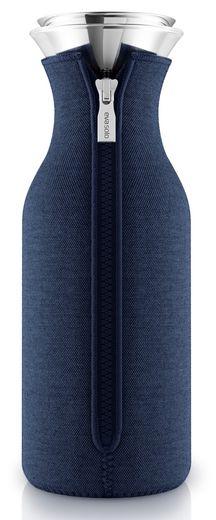 Eva Solo Fridge Karaf Drupvrij Neoprene Navy Blue 1 liter