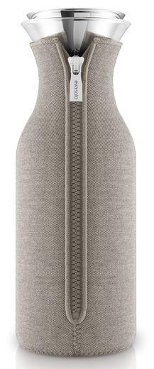 Eva Solo Fridge Karaf Drupvrij Neoprene Warm Grey 1 liter
