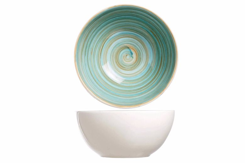 Cosy & Trendy soepkom Turbolino blauw
