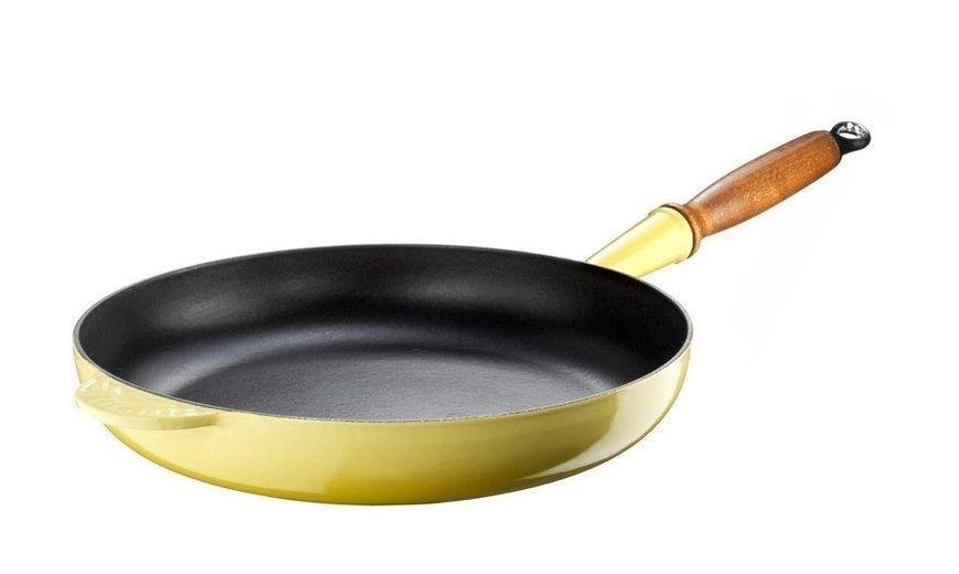 Le Creuset koekenpan Signature geel Ø 28 cm