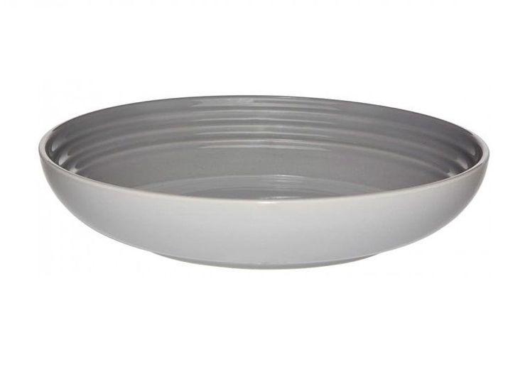 Le Creuset diep bord grijs Ø 22 cm
