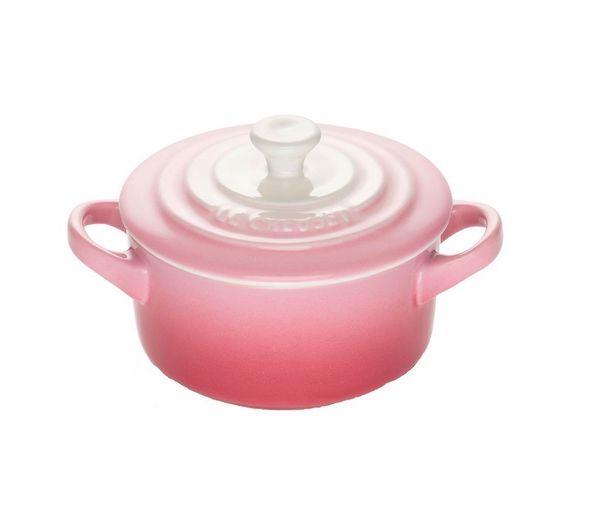 Le Creuset mini braadpan ombre roze