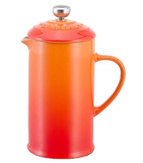 Le Creuset cafetière oranje-rood 0.8 liter