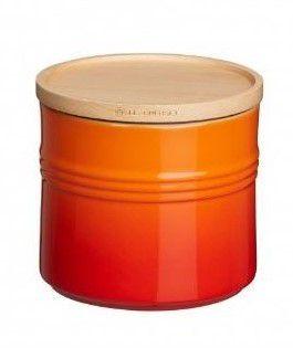 Le Creuset voorraadpot oranje-rood 1.4 liter