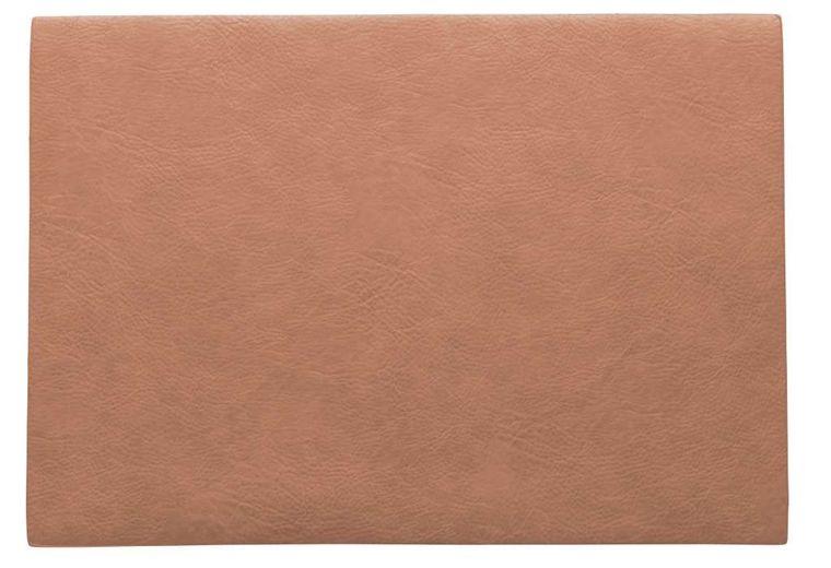 ASA Selection Placemat Leer Coral 33 x 46 cm