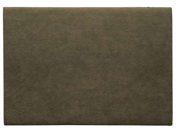 ASA Selection Placemat Leer Khaki 33 x 46 cm