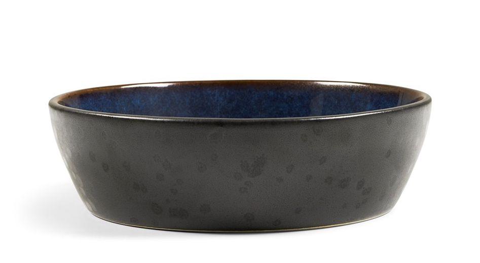 Bitz Kom Zwart Donkerblauw Ø 18 cm