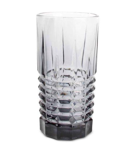 Salt & Pepper longdrinkglas Victoria rechthoek grijs