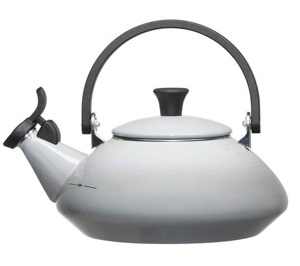 Le Creuset fluitketel Zen grijs 1.5 liter