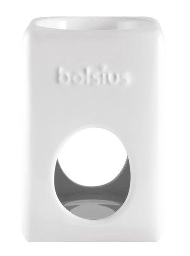 Bolsius brander Aromatic Vierkant wit