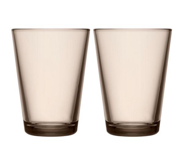 Iittala-Kartio-glas-40cl-linen-2-stuks