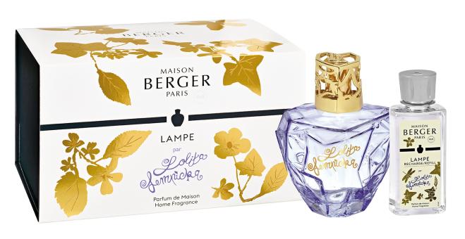 Lampe Berger giftset Lolita Lempicka paars