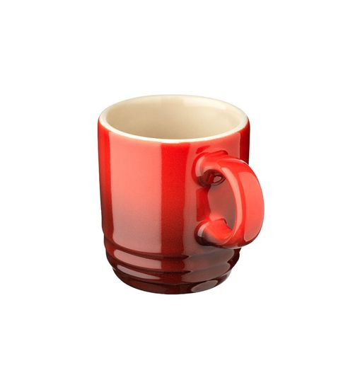 Le Creuset espresso kopje kersenrood 7 cl