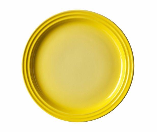 Le Creuset ontbijtbord geel Ø 22 cm