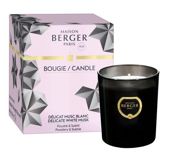 Maison Berger Geurkaars Black Crystal Délicate White Musk