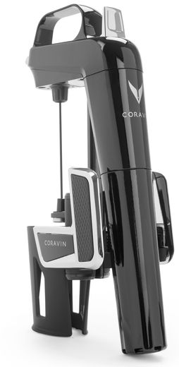 Coravin wijnsysteem Model Two Elite piano zwart