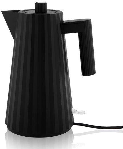 Alessi waterkoker Plissé zwart - 1.7 liter