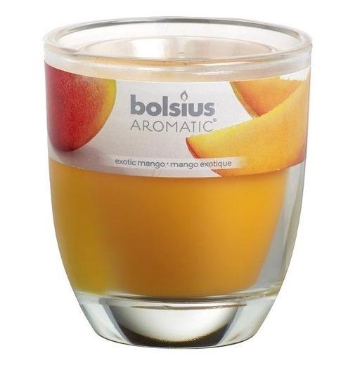 Bolsius geurkaars in glas Aromatic Exotic Mango 120/100 mm