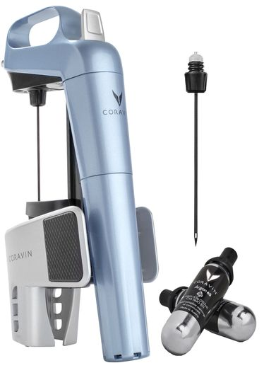 coravin model two blauw