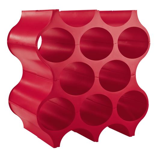Koziol Wijnrek Stapelbaar Set-Up Rood