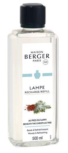 lampe-berger-navulling-beneath-christmas-tree