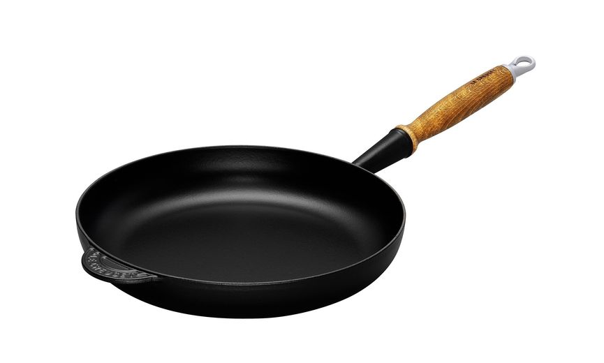 Le Creuset koekenpan Signature zwart Ø 24 cm