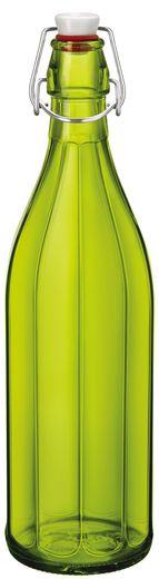 Bormioli beugelfles Oxford groen 1 liter