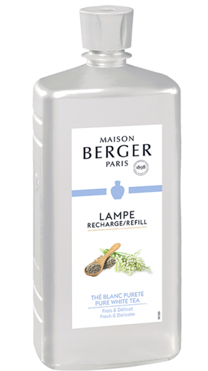 Lampe Berger navulling Pure White Tea 1 liter