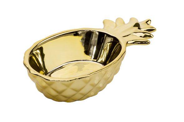 Cosy & Trendy Schaal Ananas Goud