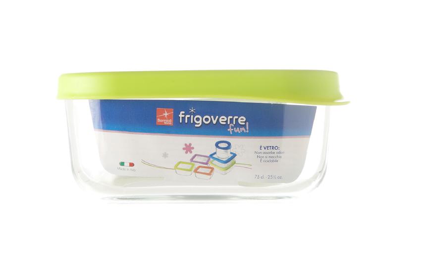 Bormioli vershoudbakje Frigoverre groen 15 x 15 cm