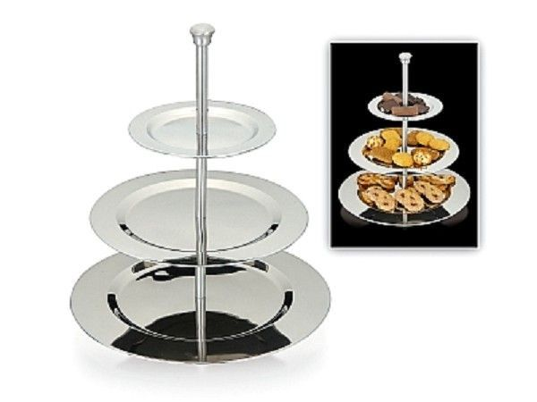 etagere-3-laags-rvs-rond