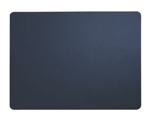 ASA Selection Placemat Leer Donkerblauw 33 x 46 cm