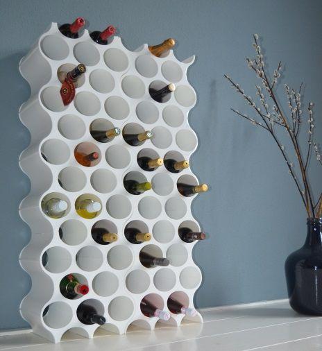 koziol wijnrekken set up wit kopen stapelbare wijnrekken. Black Bedroom Furniture Sets. Home Design Ideas