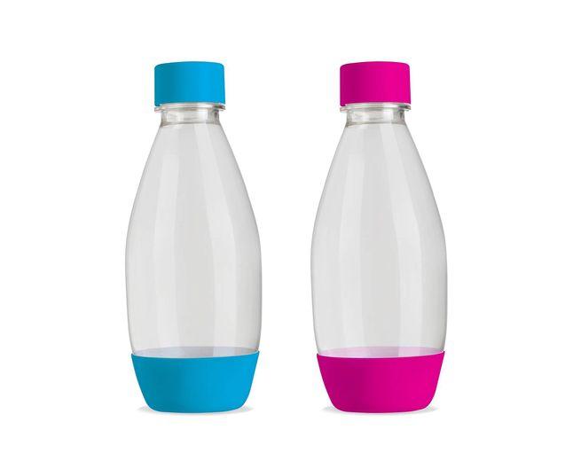 Soda Stream Twinpack Roze-Blauw 02