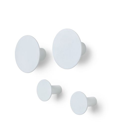 Blomus Ponto wandhaak - 4 stuks - micro chip
