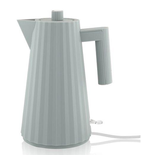 Alessi waterkoker Plissé 1.7L - grijs