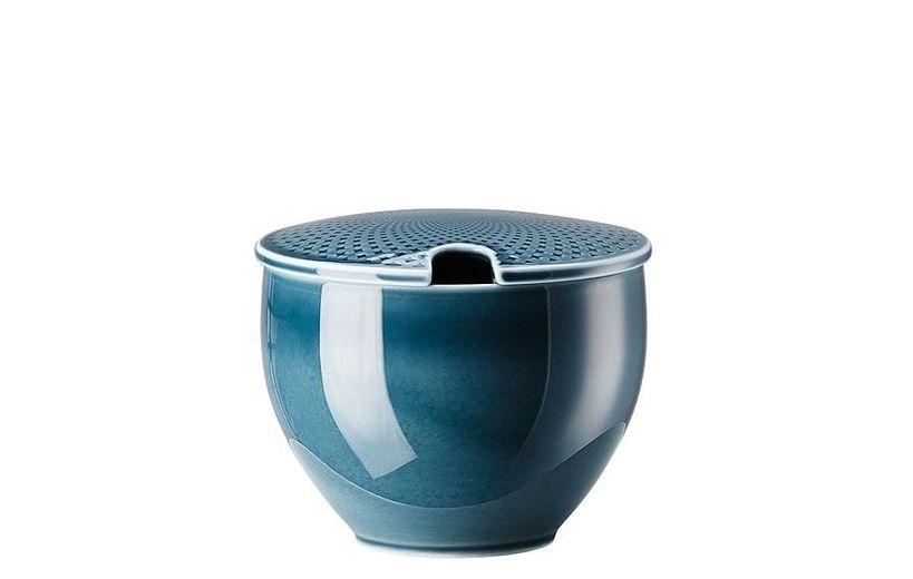 Rosenthal Junto suikerpot met deksel - ocean blue