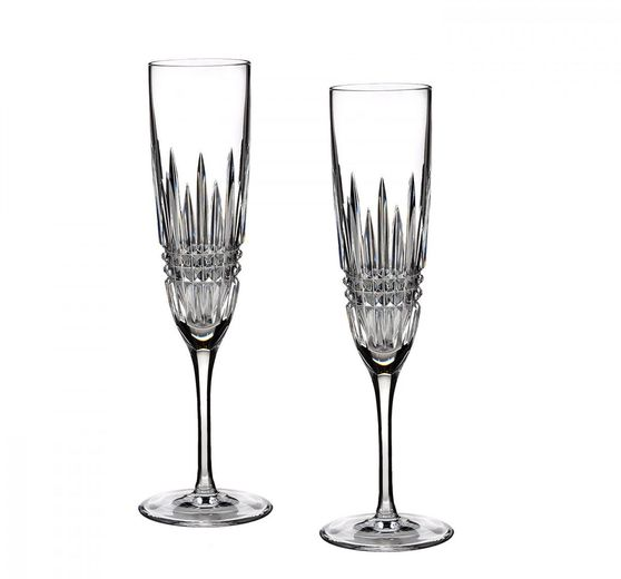 Waterford Lismore Diamond Champagneflute - set van 2