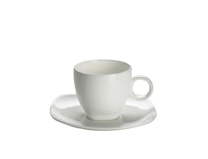 Maxwell & Williams Espresso Kop Met Schotel Cashmere Square 11 cl