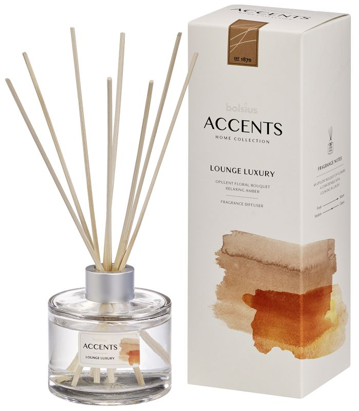 Bolsius Geurstokjes Accents Lounge Luxury 100 ml
