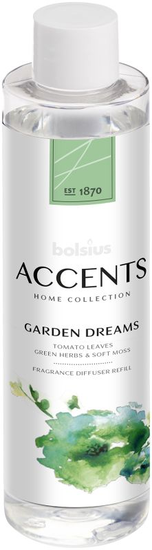 Bolsius Navulling Accents Garden Dreams 200 ml