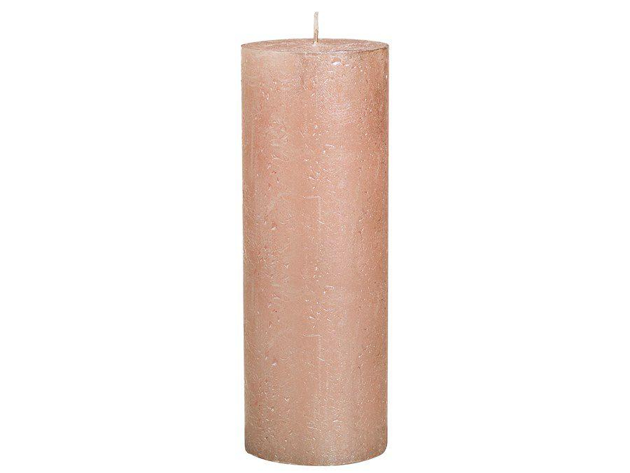 Bolsius stompkaars Metallic rosé goud 190/68 mm