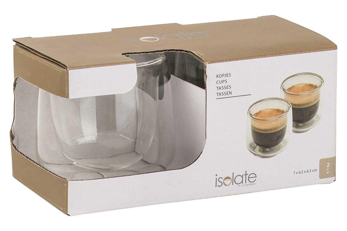 Cosy Trendy Dubbelwandige Glazen Espresso