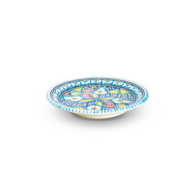 Dishes_Deco_Dessertbord_Turquoise_Blue_20_cm