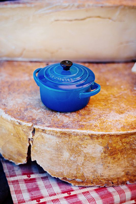Le Creuset mini braadpan Signature marseille sfeer