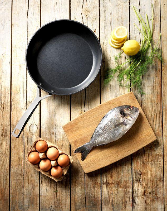 Le Creuset koekenpan Les Forgées Ø 30 cm sfeer
