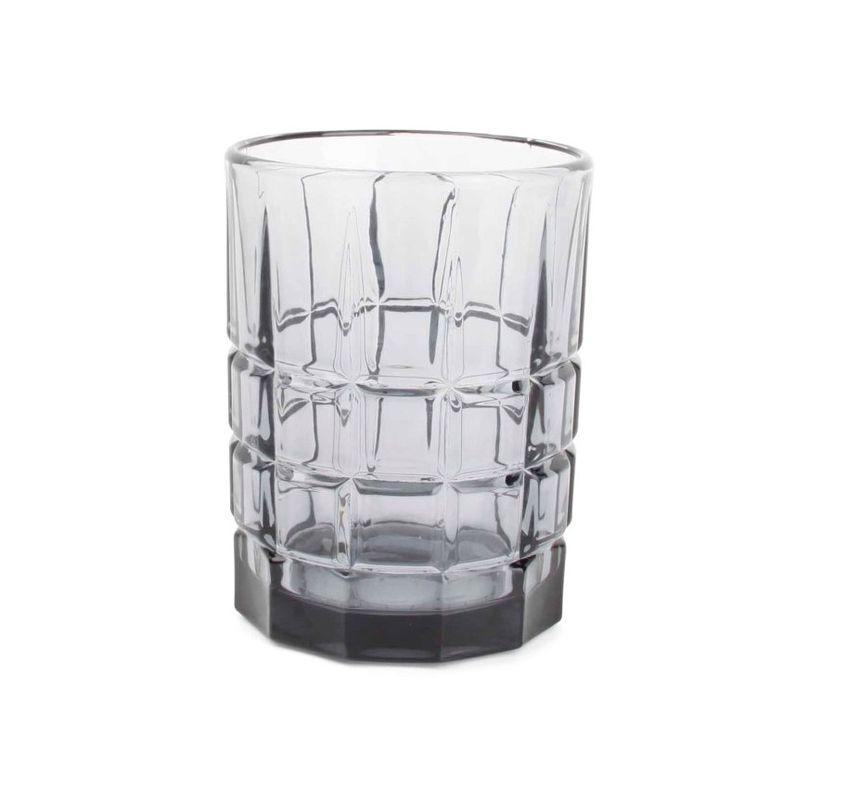 Salt & Pepper whiskyglas Victoria vierkant grijs