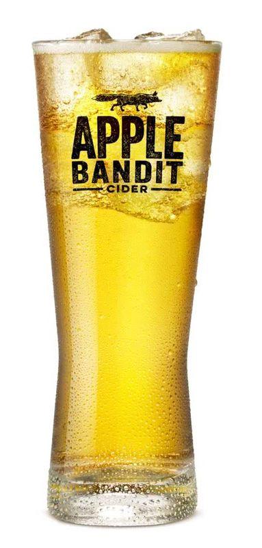 Apple Bandit Bierglas
