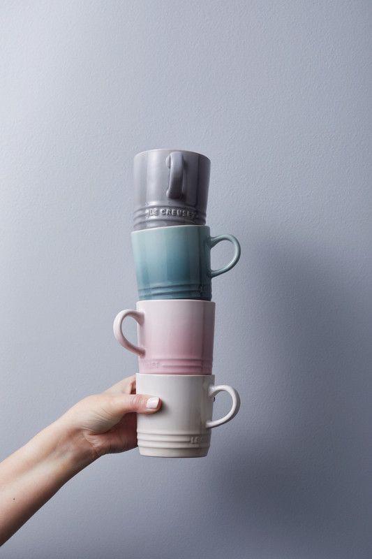 Le Creuset Espresso Kopjes Calm 10 cl - 4 Stuks